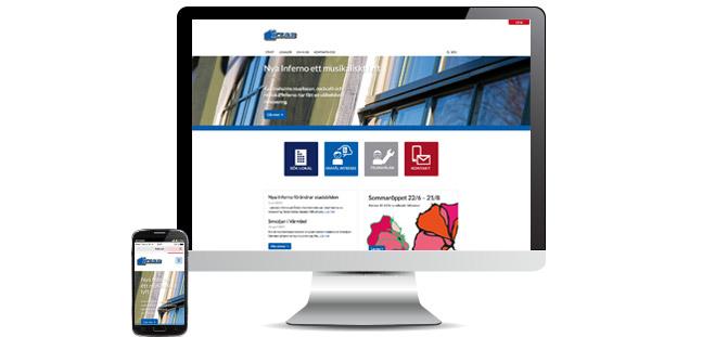Två nya responsiva webbplatser sjösatta