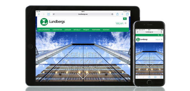 Nya lundbergs.se är lanserad